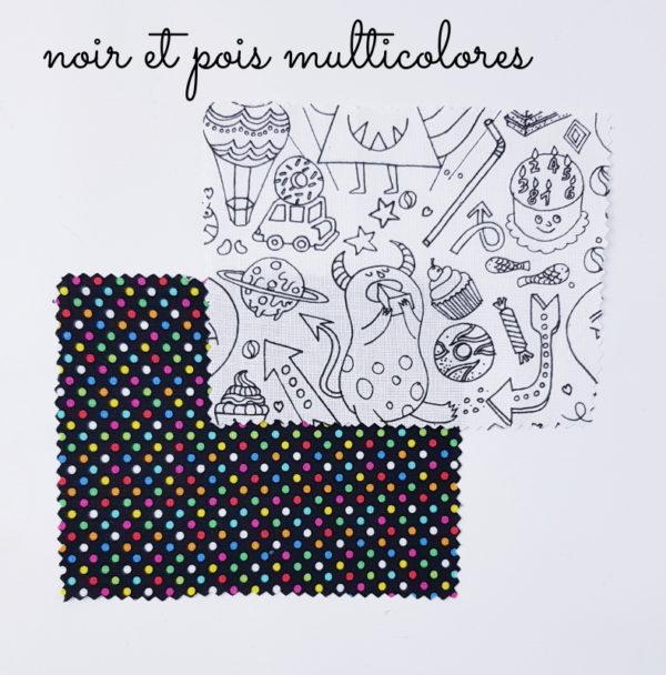 Kit couture débutant enfant pique-épingles lilaxel les tissus