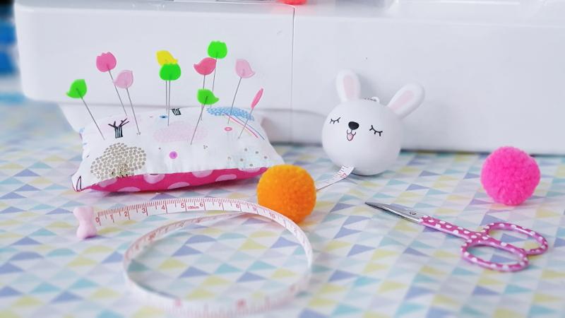 kit couture débutant enfant pique-épingles lilaxel