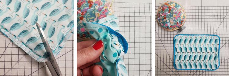 tuto couture débutant - poser un passepoil - étape 4 - lilaxel