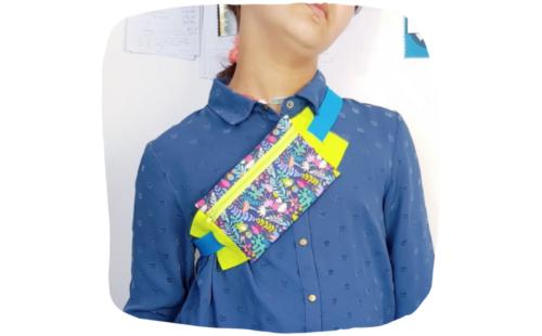 atelier couture lilaxel ploemeur - sac banane
