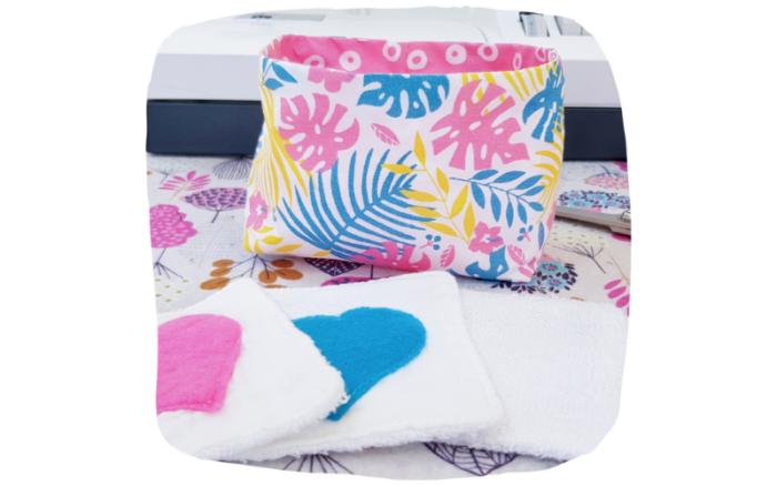 atelier couture lilaxel ploemeur - corbeille en tissu
