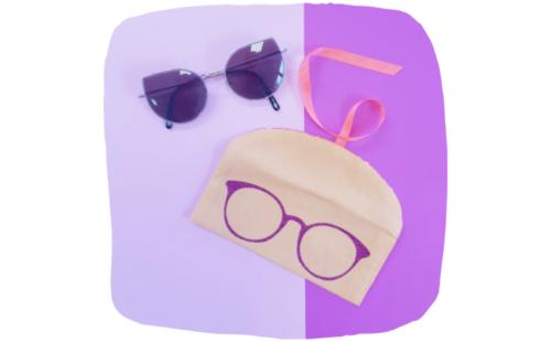 atelier couture lilaxel ploemeur - pochette à lunettes